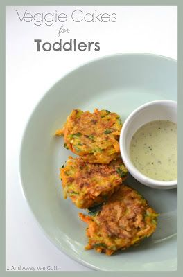 ... and away we go!: Veggie Cakes for Toddlers