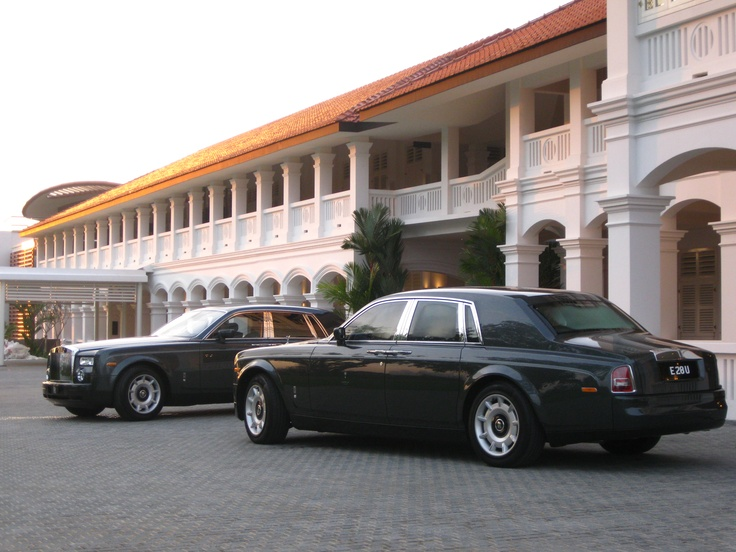 Travel in style! #Capella #Luxury #Rolls Royce #Transport