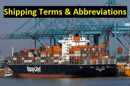 This article has presented mostly used 60 shipping terms and abbreviations which will be very effective in our career development.