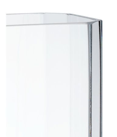 Fra H&M home, høy vase i glass
