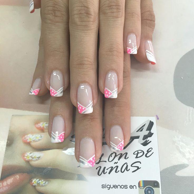734 best uñas decoradas images on Pinterest   Nail art, Nail ...