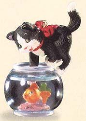 1999 Mischievous Kittens #1Keepsake Ornaments, Hallmark Ornaments I Hav
