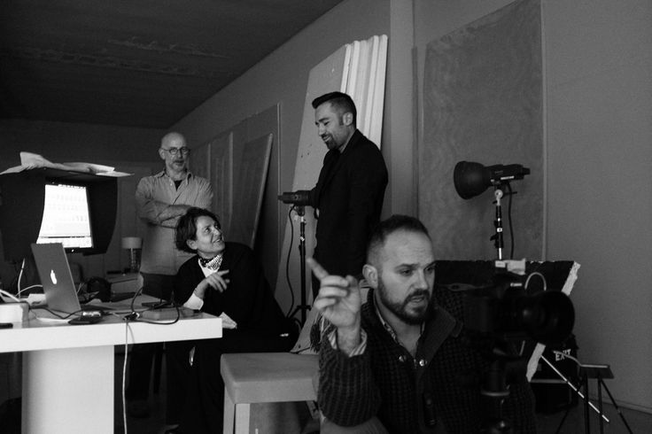 work in progress - backstage Casamilano new collection 2017