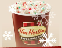 Excited to go to Toronto for Christmas just so I can have Tim Hortons coffee (hopefully) every day!