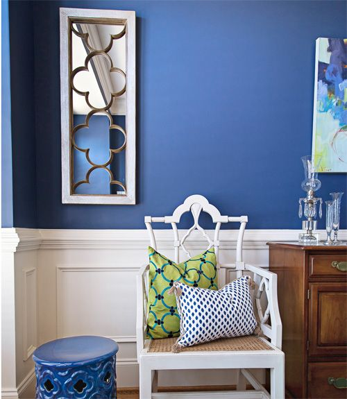 Bold Colors Apartment Kitchen Decorating Ideas: Best 25+ Royal Blue Walls Ideas On Pinterest