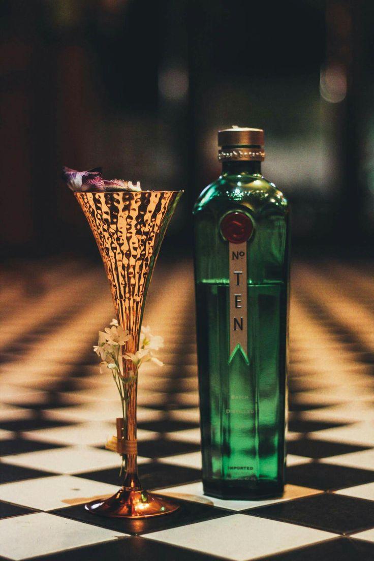TRANSCENDENCE. Tanqueray no10. Unicum Swack. Chamomile&black pepper&cinnamon syrup. Black cherrie Jam. Fresh Lemon Juice