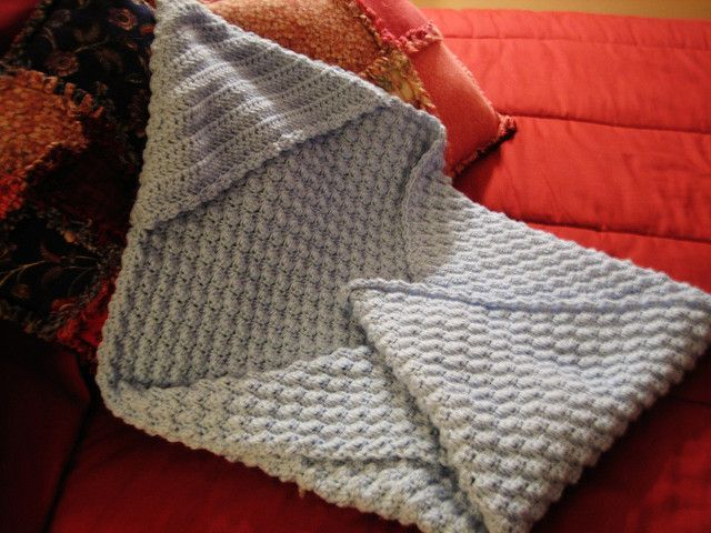 Ravelry: Hooded Baby Blanket - Crochet pattern by Lion Brand Yarn