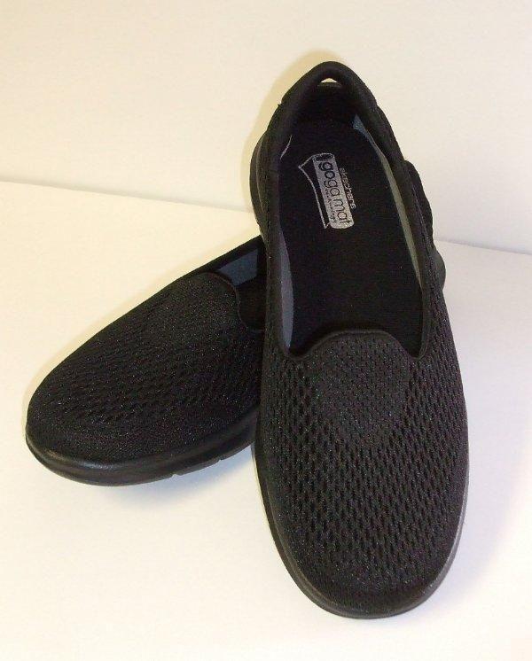 Skechers Go Step Black Women's Size 7 NEW Ret $65 #Skechers SALE JUST $25.00