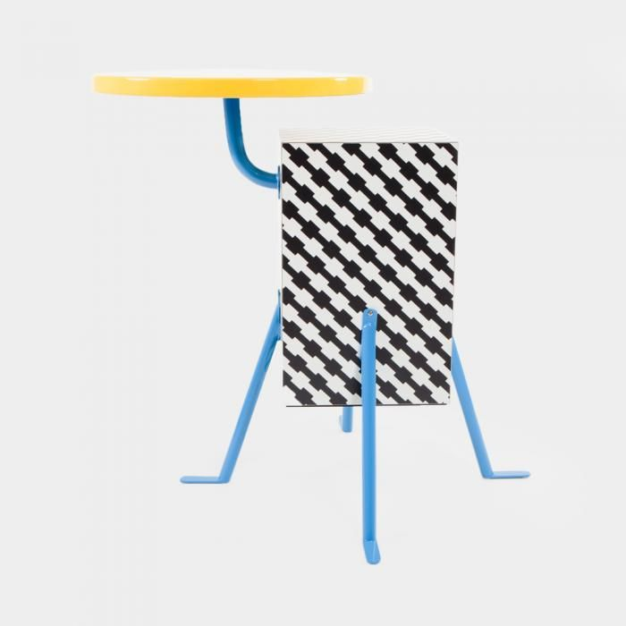 """Kristall"" end table designed in 1981 for Memphis by Michele De Lucchi...  yes!"