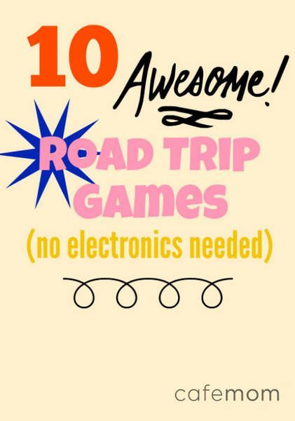 Here are a few fun road trip games to keep everyone engaged and amused in the car until you get to your destination.