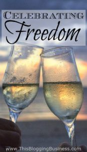 Celebrating Freedom - Day 10 of the Freedom Plan Blog Challenge as we look back…
