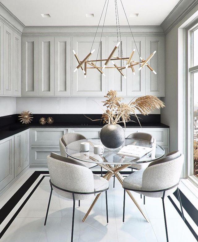 Breakfast Time Dark Or Light What S Your Favorite Beindesign Interior Interiordesign Modern Dining Room Dining Room Design Modern Interior