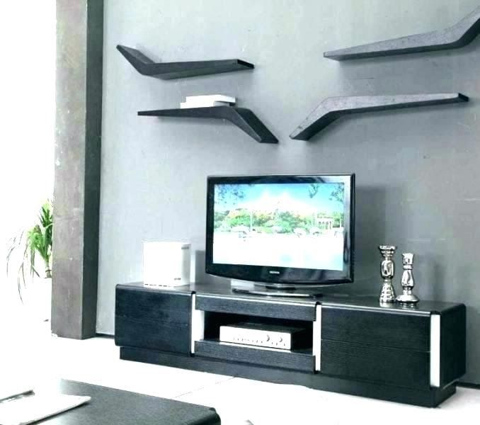 Wall Mounted Tv Stands Designs Cabinet In India Un In 2020 Mit