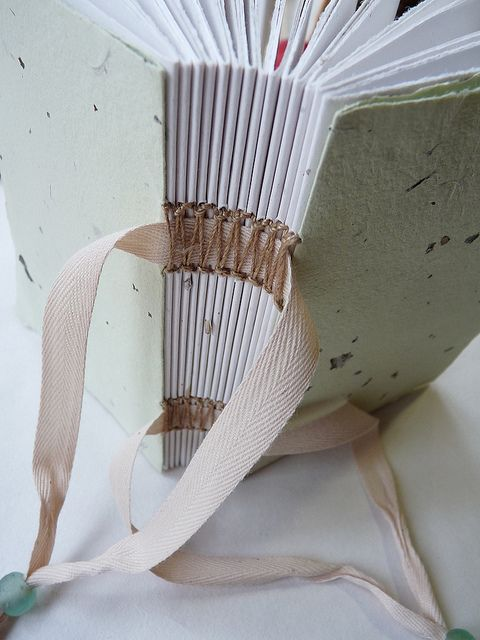interesting sewing on tapes immaginacija, via Flickr