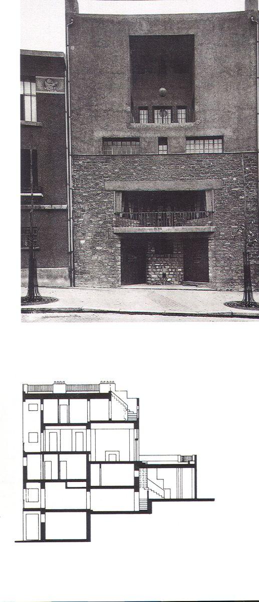 Adolf Loos – Casa de Tristan Tzara, París (1925)