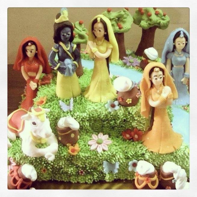 janamashtmi special....... By https://www.facebook.com/takeDcakebyAviruchi  U make awsm cakes......