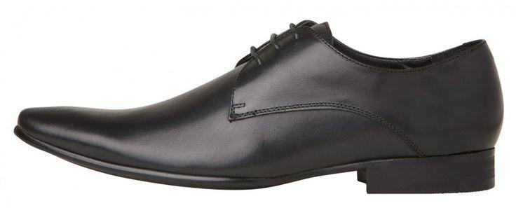 Windsor Smith - Rocket Black Leather Shoe
