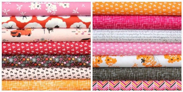 Please Repin! #pinittowinit Contest -  Madrona Road fat quarter bundle--14 pieces---at Fresh Squeezed Fabrics $36.75