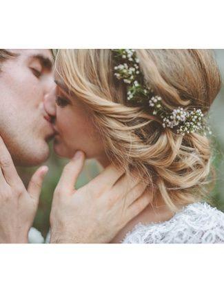 Hübsche Brautfrisur für eine Hochzeit im Freien #Brautfrisur #hair