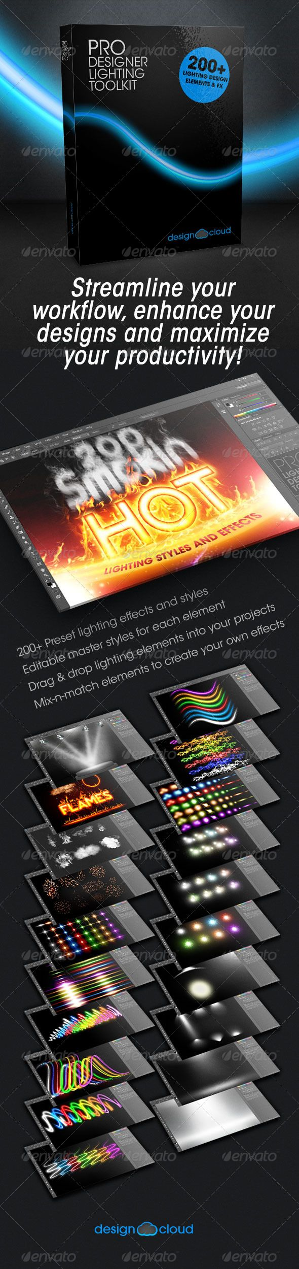 Poster design top 10 - Pro Lighting Designer Toolkit