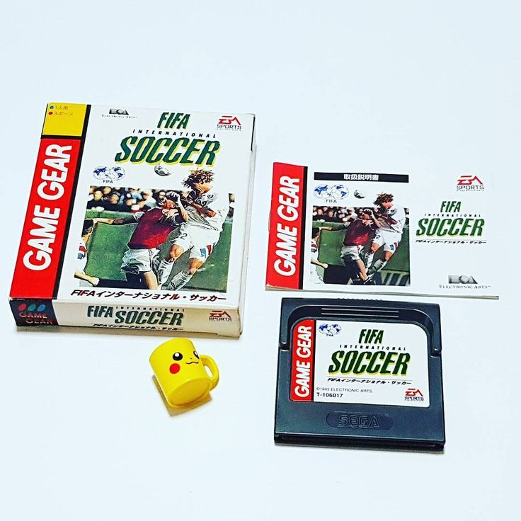 On instagram by retronutz #gamegear #microhobbit (o) http://ift.tt/2qLpl3u addition to my Japanese Sega Game Gear cartridge collection.  FIFA INTERNATIONAL SOCCER  #sega  #fifa #easports #retrocollective #retrogaming #retrogamers #vintagegames #japangames #handheldgaming #retrogames #segagamegear #cartridgegames #segagaming