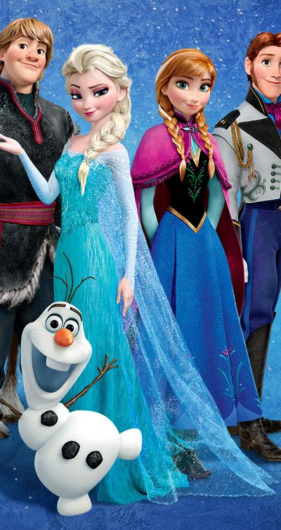 You might think Olaf is the best character.  He's so awesome and funny, after all!  But did you ever think about the fact that Elsa make Olaf?