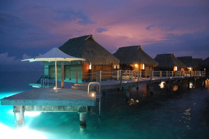 Manava Beach Resort & Spa Moorea, French Polynesia - Went here for our Honeymoon...want to go back sometime in our lifetime!
