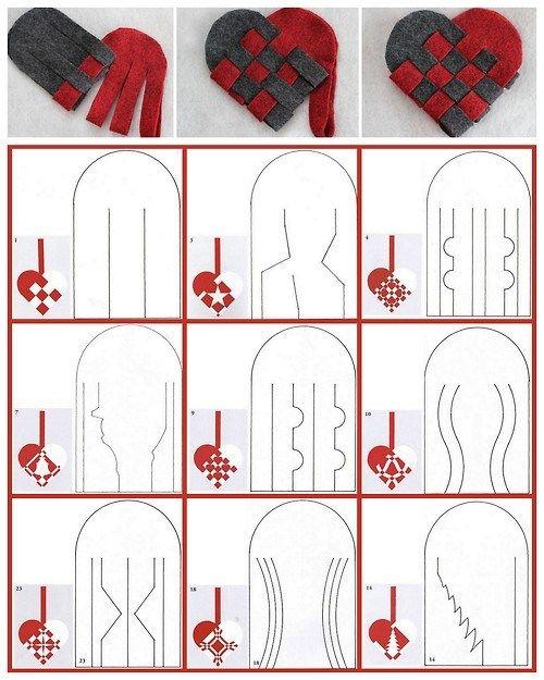 DIY Woven Heart Printables chatbreak