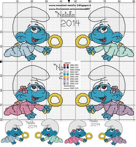 Creazioni-Natalia — «Puffy baby.jpg» на Яндекс.Фотках
