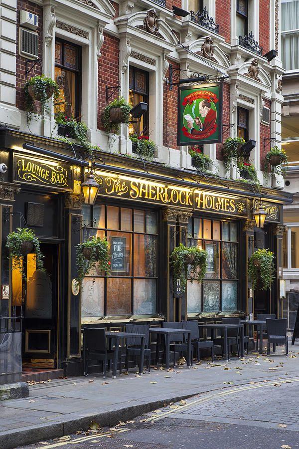 The Sherlock Holmes Pub in London http://www.sherlockholmes-stjames.co.uk/