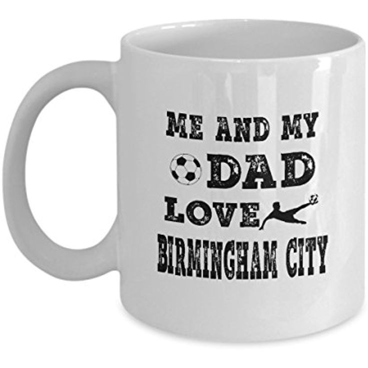 AZMugs, Godfather Gift, Godfather Gifts For Kids Me And My Dad Love Birmingham City Suitable Gadget For Places, You Will Not Regret Buying This Mug - This Is A Perfect gift For Dad _11oz - White >>> Continue to the product at the image link. (This is an affiliate link and I receive a commission for the sales)