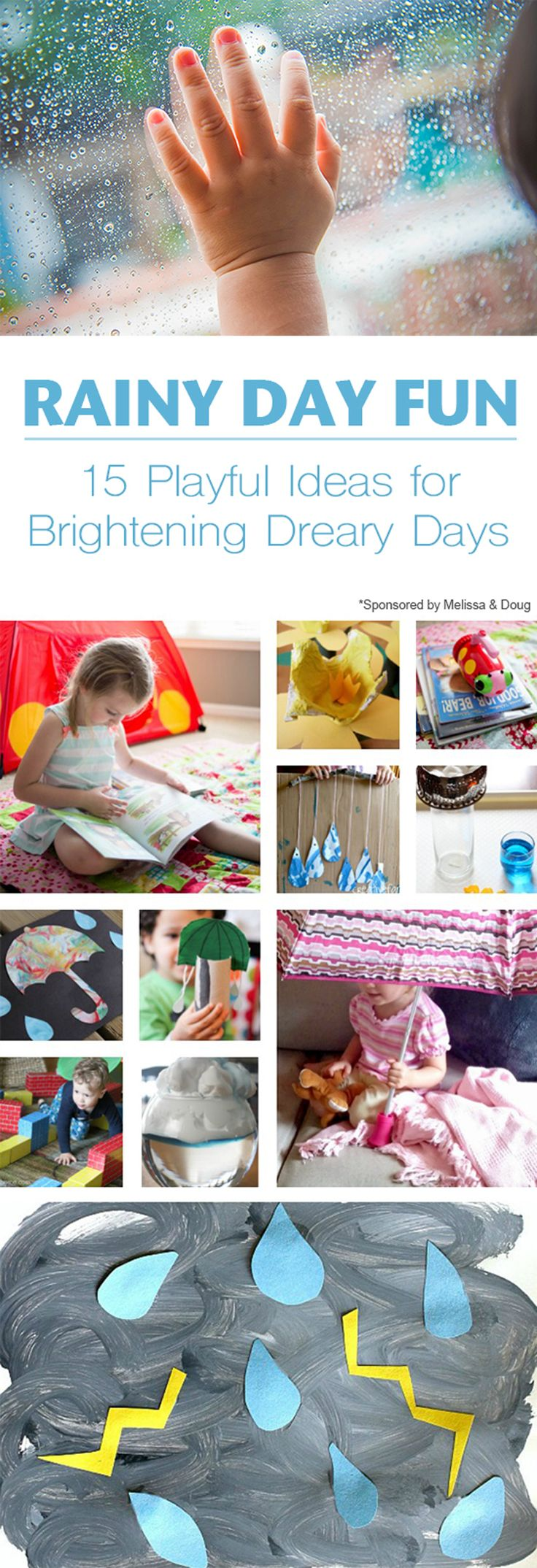 15 Indoor Rainy Day Activities for Kids