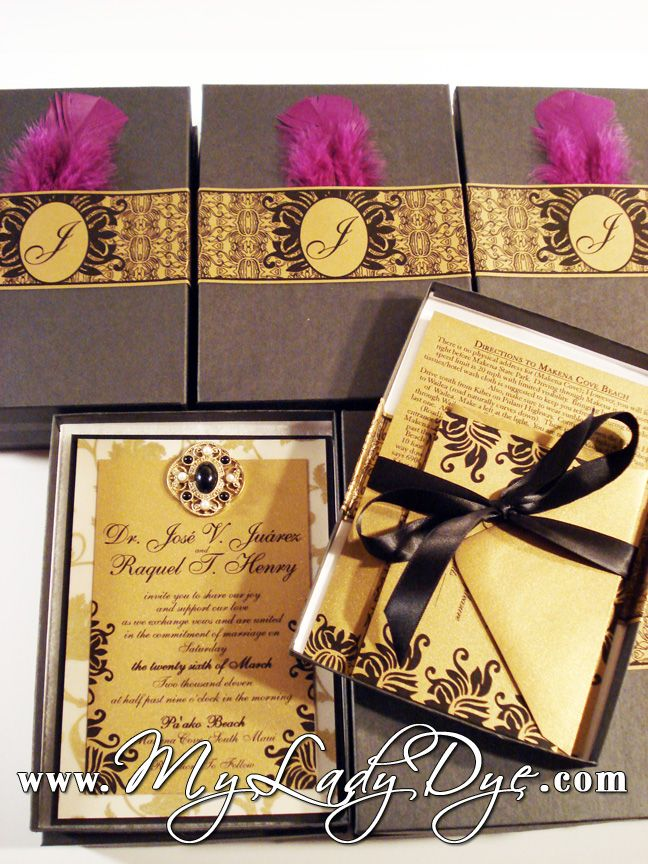 Extravagant Wedding Invitations Invitation That Exemplifies Black Gold Regal Luxurious