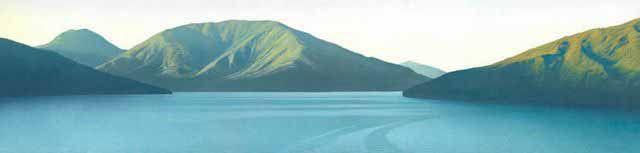 Morning Haze, Marlborough Sounds by Rick Edmonds for Sale - New Zealand Art Prints