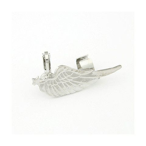 """http://www.milkymoon.com.au/products/angelica-wing-ear-cuff """"Angelica"""" Wing Ear Cuff $12"""