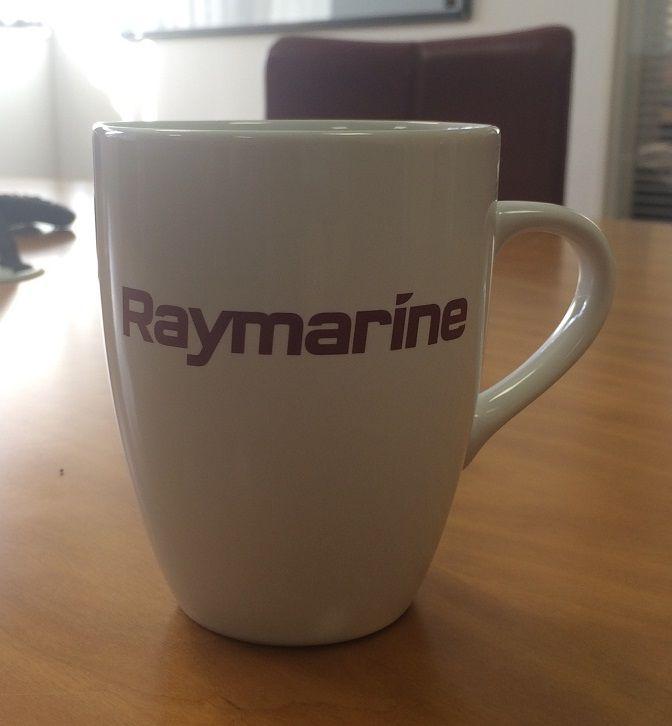 Marrow Mug - White. Distinctive and contemporary promotional mug.