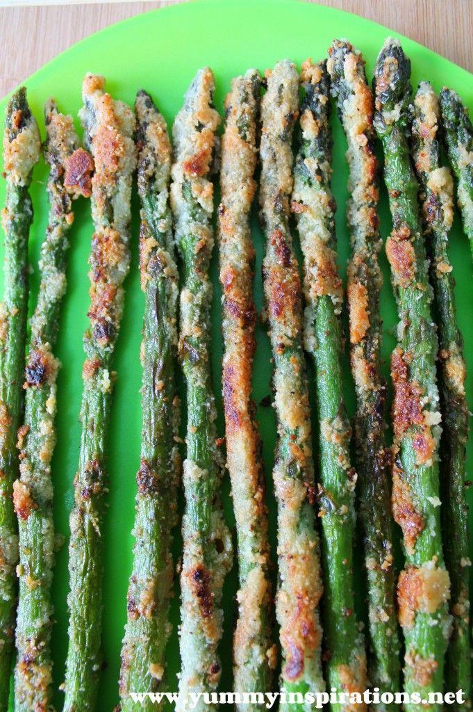 Crispy Asparagus Fries (Grain Free, GAPS Diet, Paleo) - Yummy Inspirations