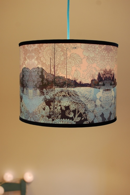 38 Best Drum Lampshades Images On Pinterest