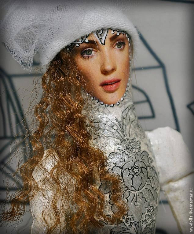 Как сделать волнистые волосы из прямого парика - Ярмарка Мастеров - ручная работа, handmade