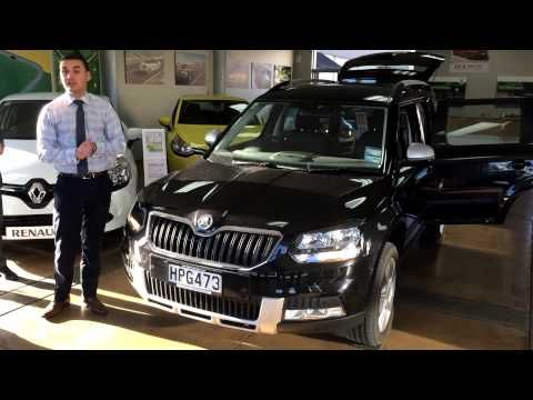 2014 ŠKODA Yeti walk-around and demonstration video by Aaron Frazer. Take a look at some of the Yeti's clever features www.milescontinental.co.nz #skoda #video #cars #nz