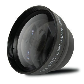 58mm 22x Telephoto Conversion Lens for Canon EOS Rebel T6s T6i SL1 T5 T5i T4i T3 T3i T1i T2i XSI XS XTI XT 70D 60D 60Da 50D 40D 30D 20D 10D 7D Digital SLR DSLR Cameras ** You can get additional details at the image link.