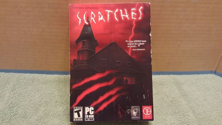 Scratches (PC Windows, 2006) HORROR GAME PC CD ROM Video Game