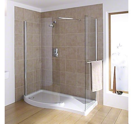 Shower Stalls for Mobile Homes | ... - Walk-in - 1400x800mm: Shower Enclosures: Products : Mira Showers