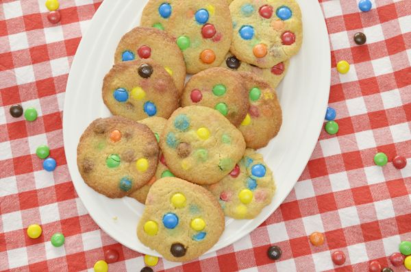 Recept: M&M Koekjes