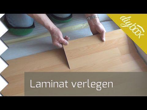 Laminat verlegen - Anleitung zur schwimmenden Verlegung @ diybook.at