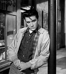 Elvis Presley in King Creole, 1958.