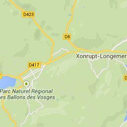 Ski en Vosges - Carte des stations de ski de Vosges