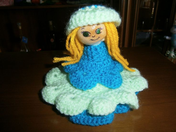 Lia B. Creations: Blue lady