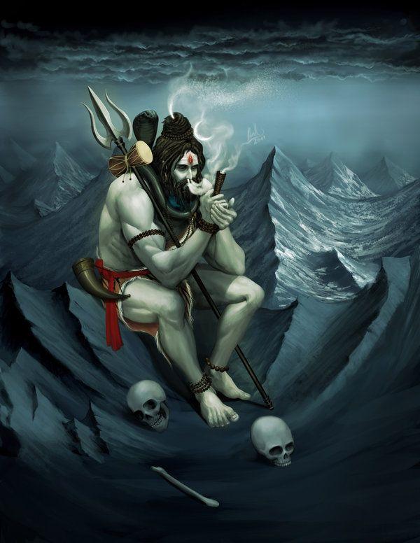 Rudra - Smoking by molee.deviantart.com on @deviantART
