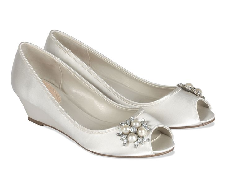 """Frosting by Pink UK Heel ht. 1 3/4"""". Sizes 6-10, 11. Dyeable"""